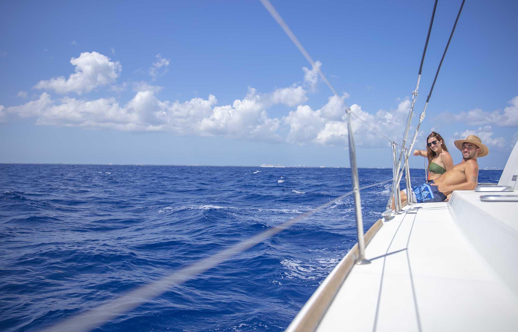Catamaran à Isla Mujeres