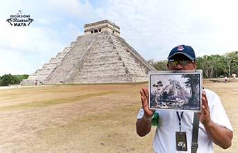 site archéologique maya chichen itza