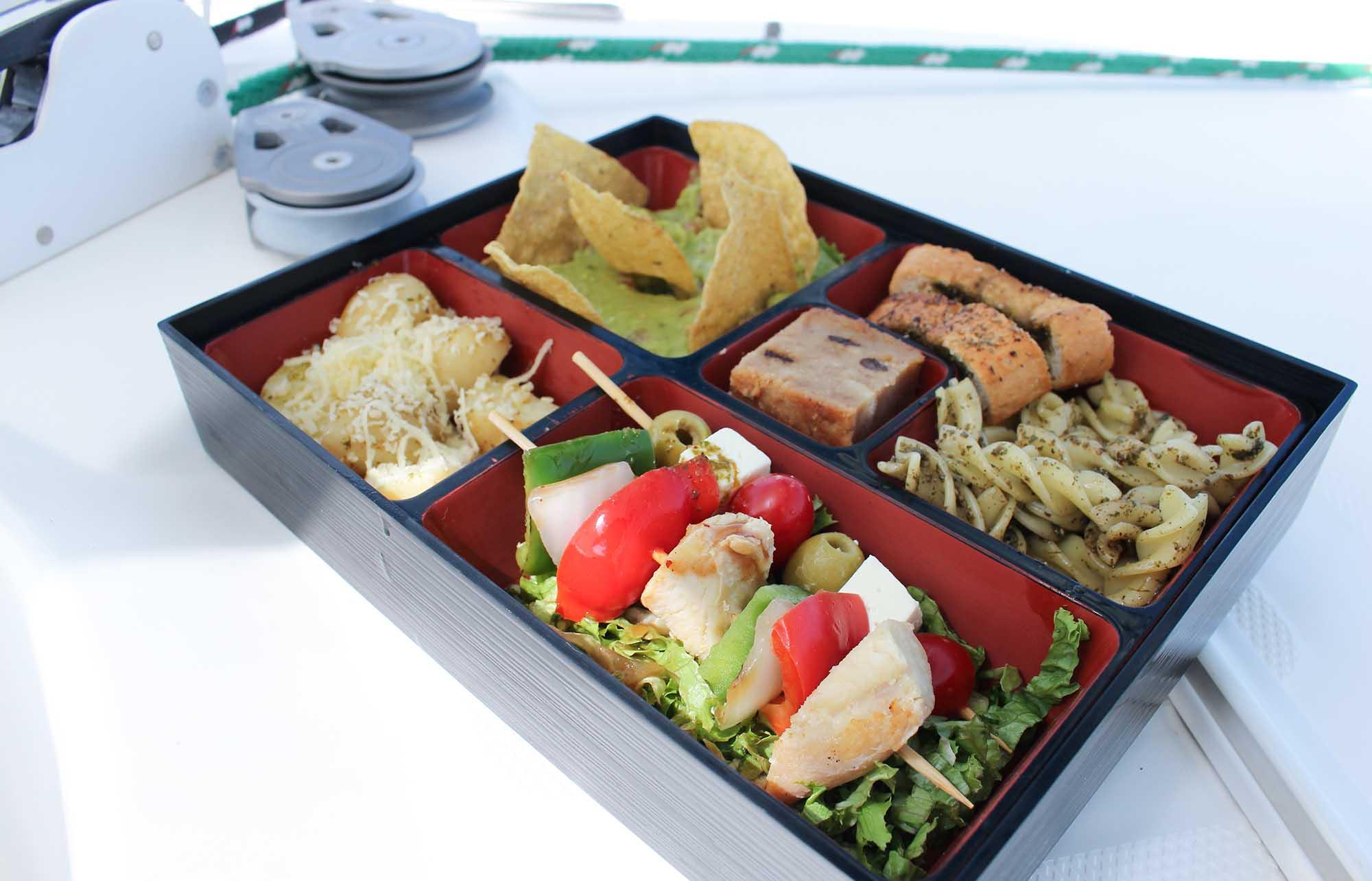 déjeuner sur l'excursion en catamaran à Isla Mujeres