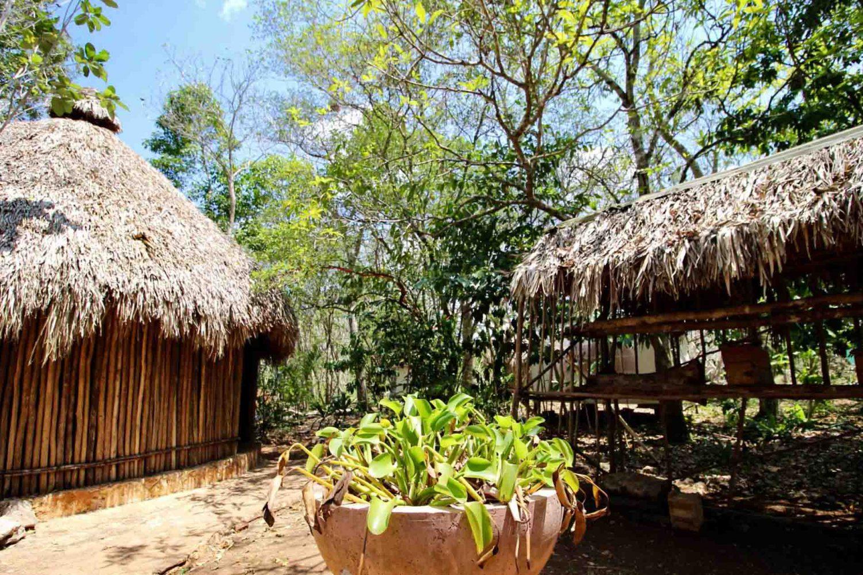 visiter un village maya