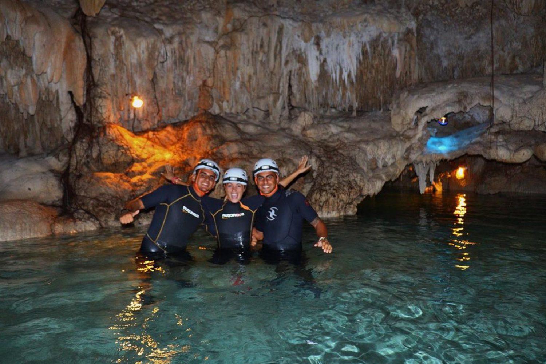 rivière souterraine Playa Del Carmen