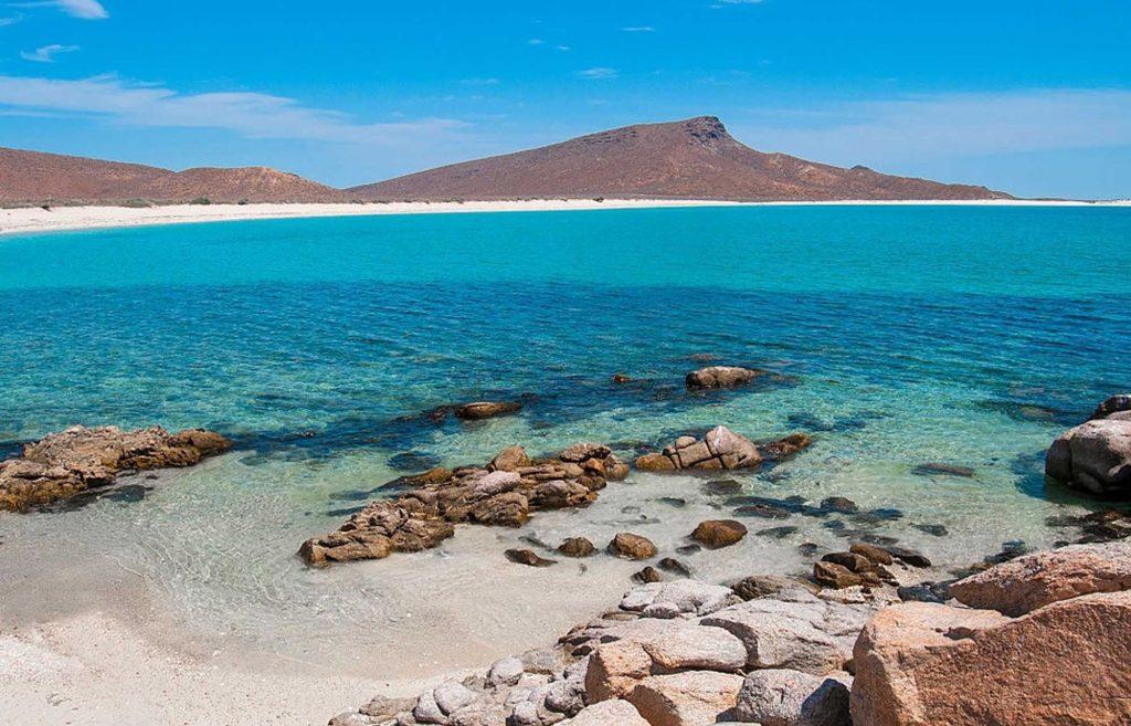 playa ballandra mexique