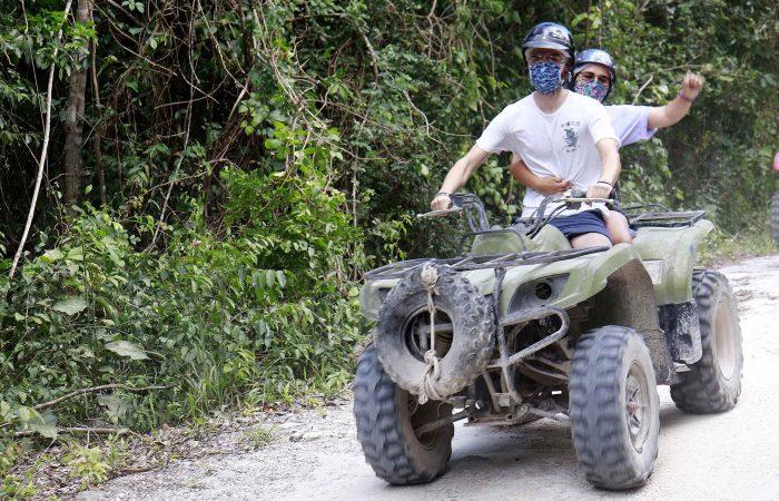 faire du quad à playa del carmen