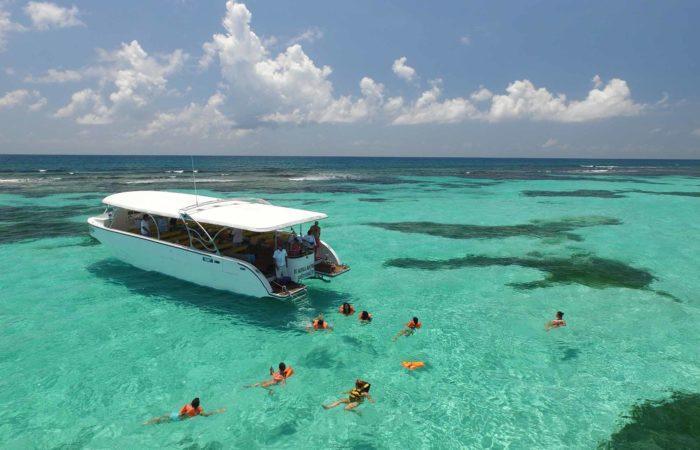 snorkeling isla contoy