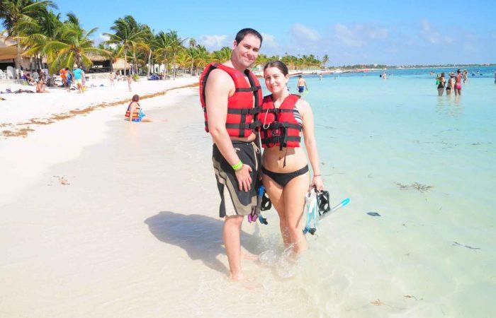 snorkeling tortues akumal
