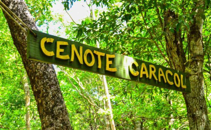 cenote caracol visite