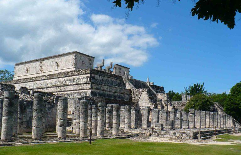 le site archéologique de chichen itza au mexique