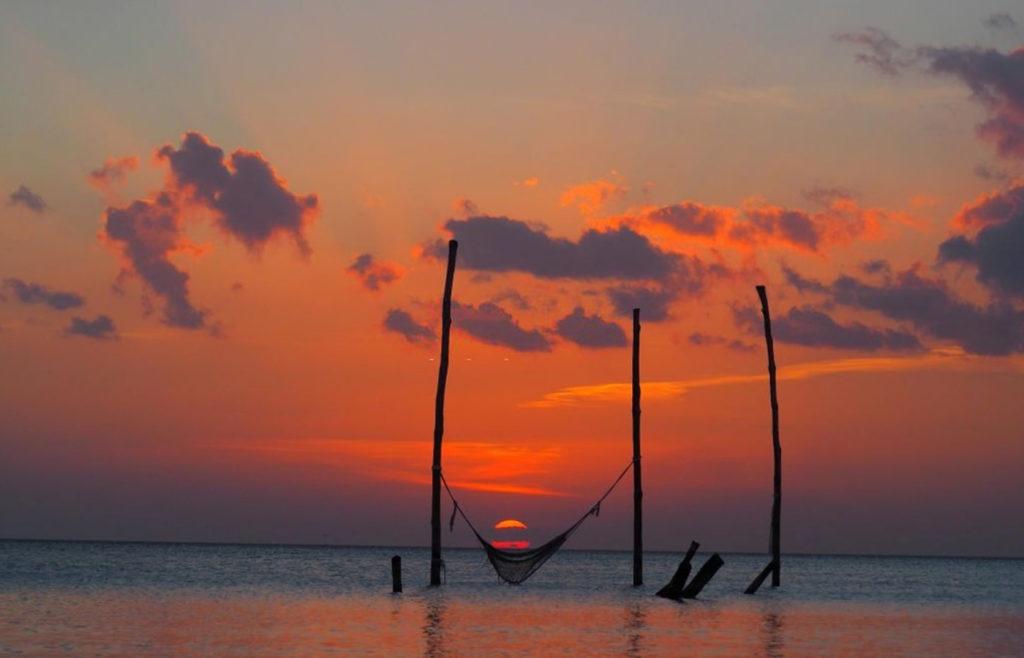 holbox coucher de soleil