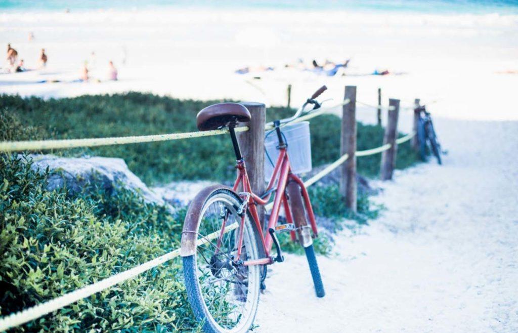 tulum plage vélo