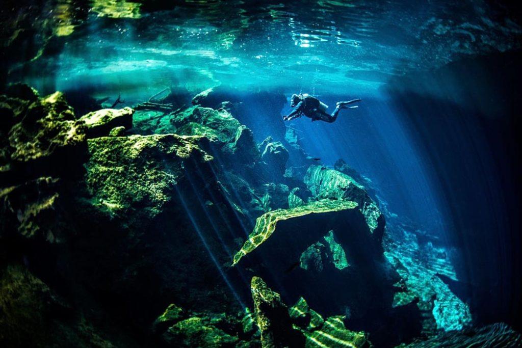 Cenotes plongée tajma ha