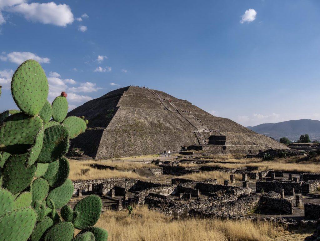 pyramide au mexique