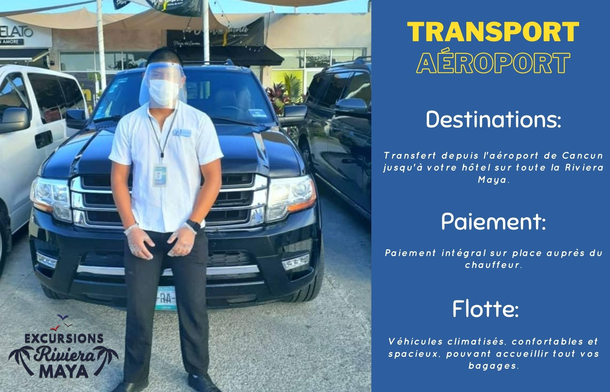 transfert aéroport Cancun
