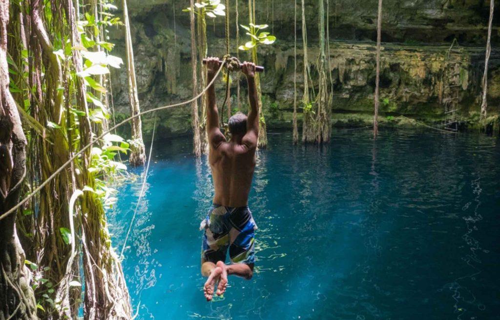 liane Cenote Oxman