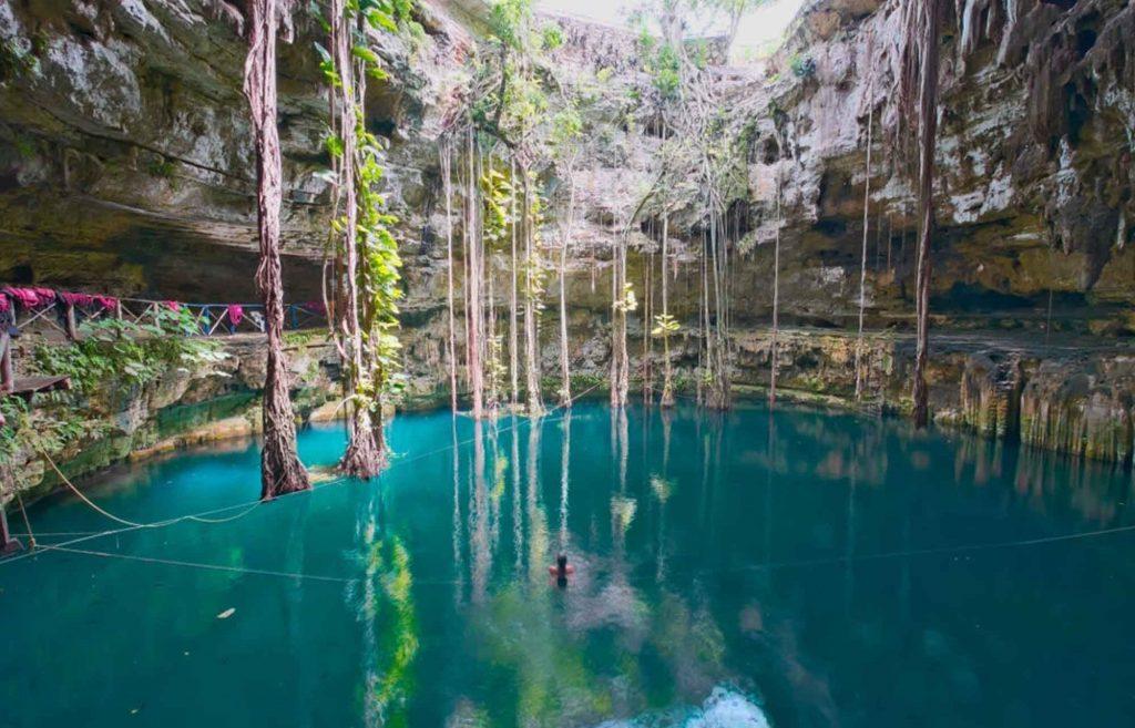 Cenote Oxman visite