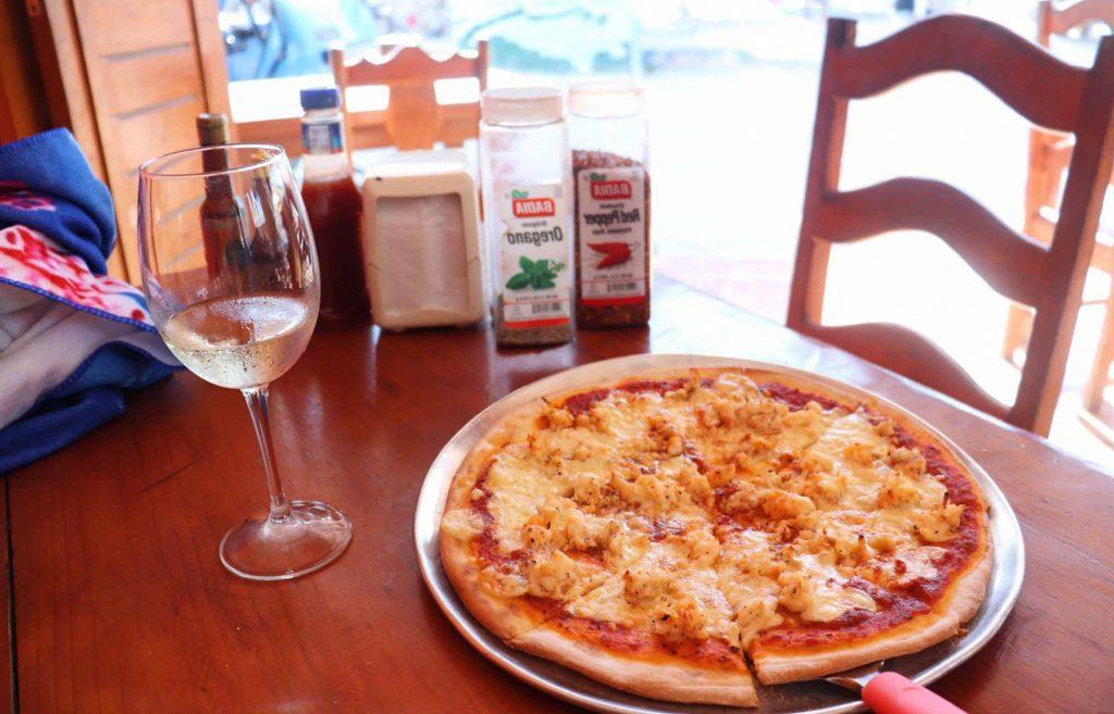 Pizza au homard  àholbox